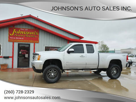 2013 GMC Sierra 1500 for sale at Johnson's Auto Sales Inc. in Decatur IN