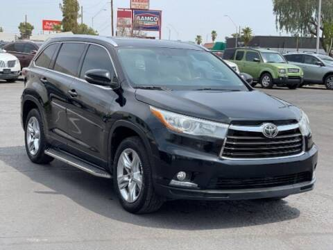 2015 Toyota Highlander for sale at Curry's Cars Powered by Autohouse - Brown & Brown Wholesale in Mesa AZ
