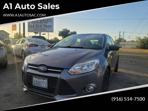 2012 Ford Focus for sale at A1 Auto Sales in Sacramento CA
