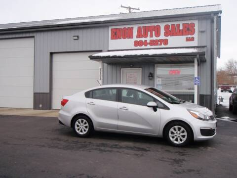 2016 Kia Rio for sale at ENON AUTO SALES in Enon OH