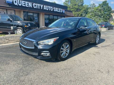 2014 Infiniti Q50 for sale at Queen City Auto Sales in Charlotte NC