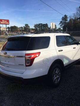 2013 Ford Explorer for sale at MOORE'S AUTOS LLC in Florence SC