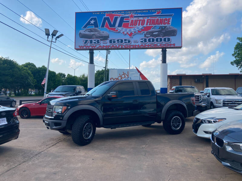 2010 Ford F-150 for sale at ANF AUTO FINANCE in Houston TX