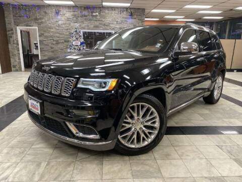 2018 Jeep Grand Cherokee for sale at Sonias Auto Sales in Worcester MA