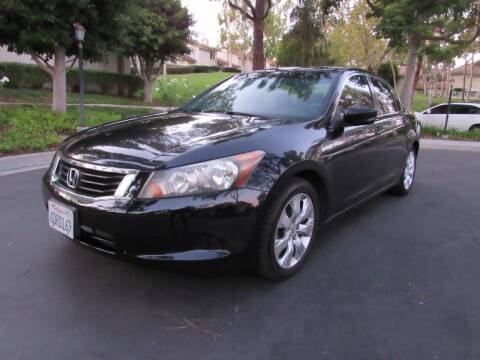 2008 Honda Accord for sale at E MOTORCARS in Fullerton CA