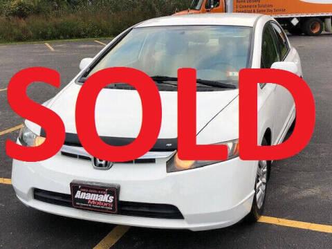 2008 Honda Civic for sale at Anamaks Motors LLC in Hudson NH