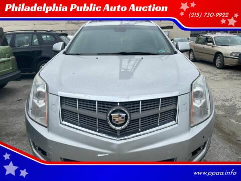 2010 Cadillac SRX for sale at Philadelphia Public Auto Auction in Philadelphia PA