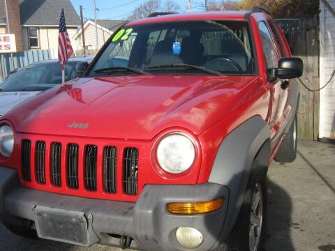 2002 Jeep Liberty for sale at JERRY'S AUTO SALES in Staten Island NY