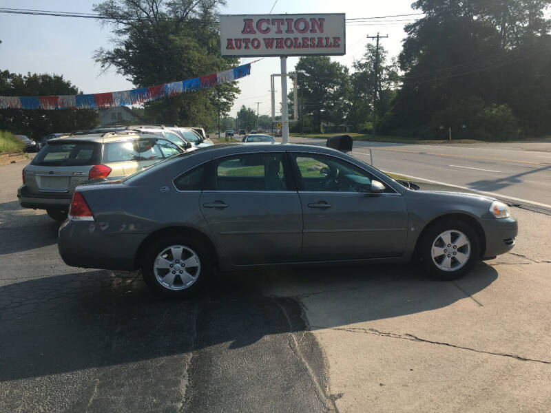 2008 Chevrolet Impala for sale at Action Auto Wholesale in Painesville OH