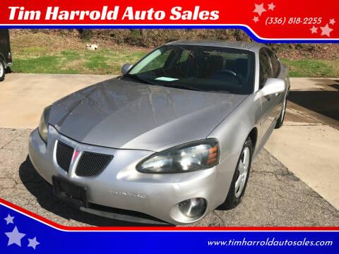 2008 Pontiac Grand Prix for sale at Tim Harrold Auto Sales in Wilkesboro NC