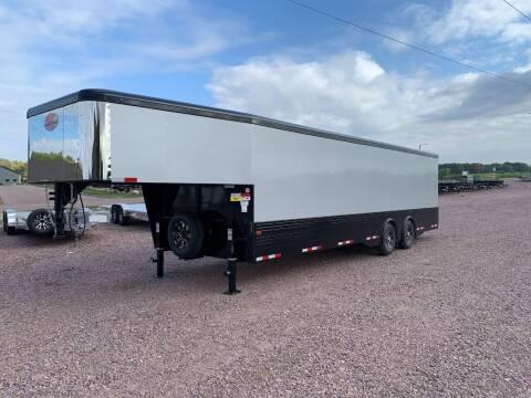 2022 Sundowner GN Car Hauler 101x28 #4632  for sale at Prairie Wind Trailers, LLC in Harrisburg SD