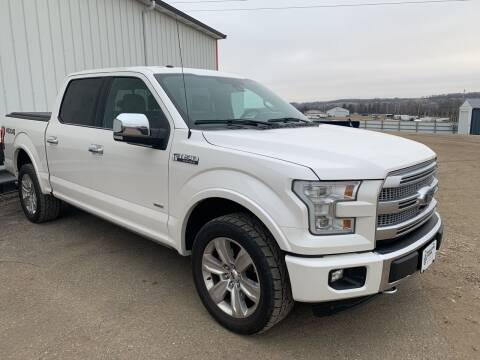 2015 Ford F-150 for sale at TRUCK & AUTO SALVAGE in Valley City ND