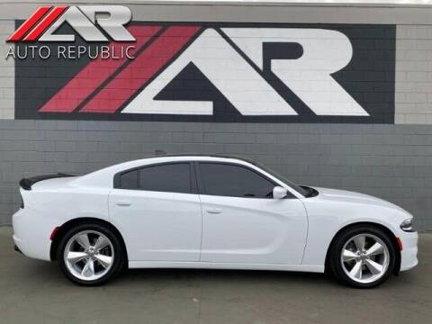 2017 Dodge Charger for sale at Auto Republic Fullerton in Fullerton CA