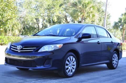 2013 Toyota Corolla for sale at Vision Motors, Inc. in Winter Garden FL