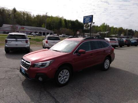 2018 Subaru Outback for sale at Ripley & Fletcher Pre-Owned Sales & Service in Farmington ME