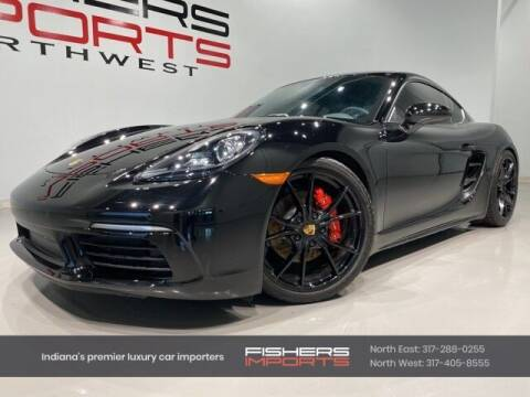 2019 Porsche 718 Cayman for sale at Fishers Imports in Fishers IN