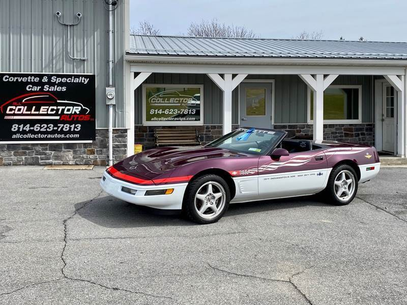 1995 Chevrolet Corvette for sale at All Collector Autos LLC in Bedford PA