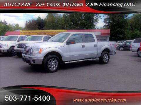 2012 Ford F-150 for sale at Auto Lane in Portland OR