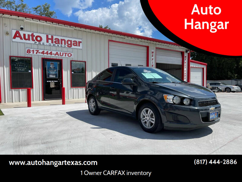2014 Chevrolet Sonic for sale at Auto Hangar in Azle TX