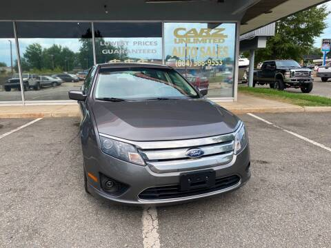 2012 Ford Fusion for sale at Carz Unlimited in Richmond VA