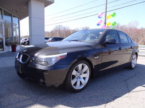 2005 BMW 5 Series for sale at KING RICHARDS AUTO CENTER in East Providence RI
