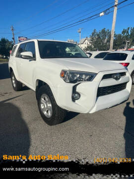 2015 Toyota 4Runner for sale at Sam's Auto Sales in Cranston RI