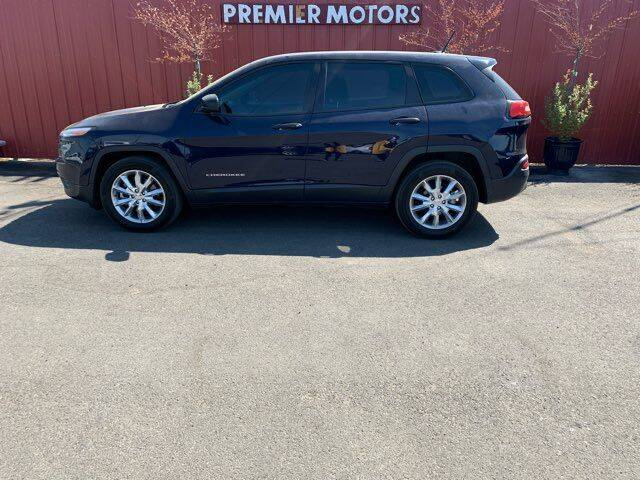 2014 Jeep Cherokee for sale at PREMIERMOTORS  INC. in Milton Freewater OR