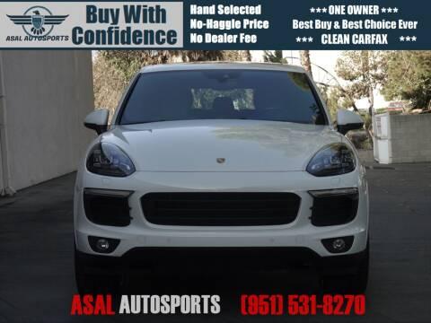 2017 Porsche Cayenne for sale at ASAL AUTOSPORTS in Corona CA