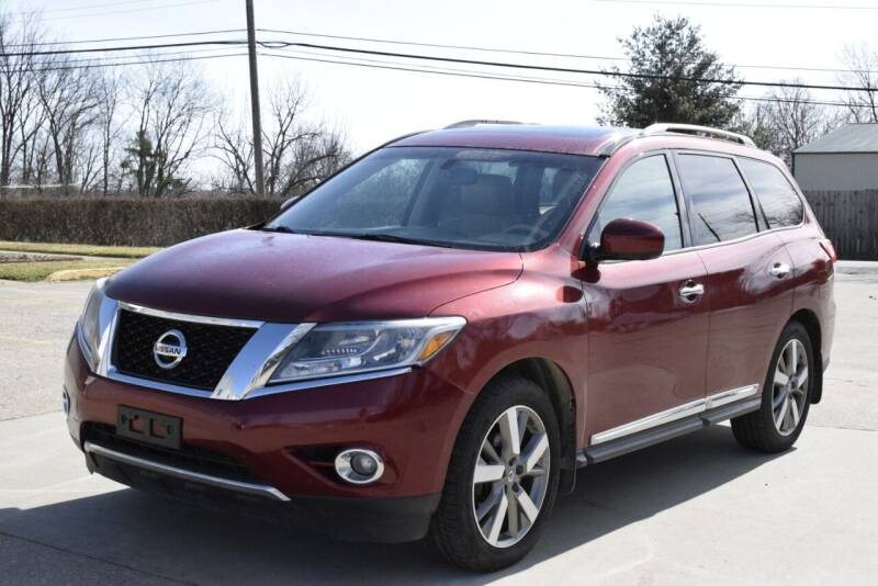 2015 Nissan Pathfinder for sale at Digital Auto in Lexington KY