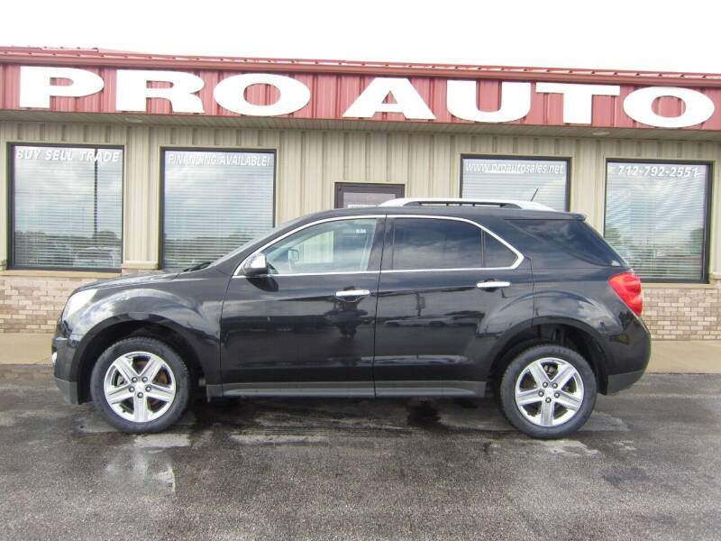 2015 Chevrolet Equinox for sale at Pro Auto Sales in Carroll IA