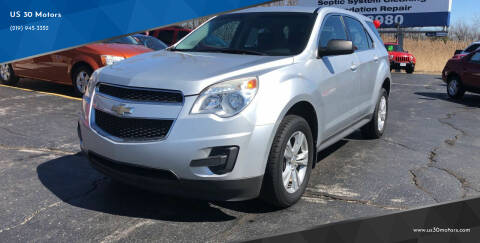 2011 Chevrolet Equinox for sale at US 30 Motors in Merrillville IN