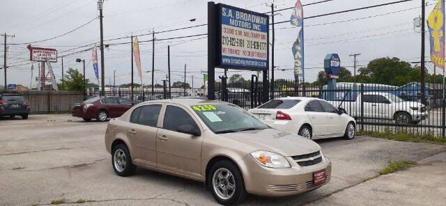 2007 Chevrolet Cobalt for sale at S.A. BROADWAY MOTORS INC in San Antonio TX