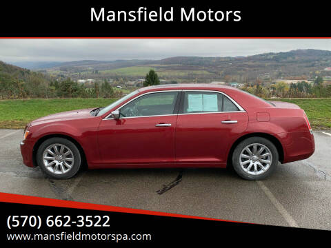 2013 Chrysler 300 for sale at Mansfield Motors in Mansfield PA