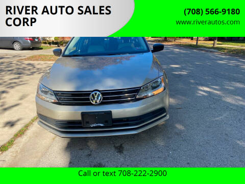 2015 Volkswagen Jetta for sale at RIVER AUTO SALES CORP in Maywood IL
