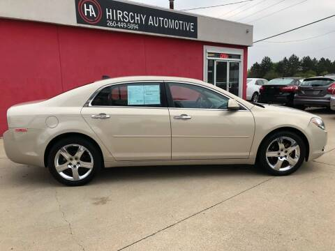 2012 Chevrolet Malibu for sale at Hirschy Automotive in Fort Wayne IN