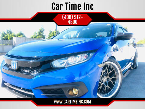 2017 Honda Civic for sale at Car Time Inc in San Jose CA