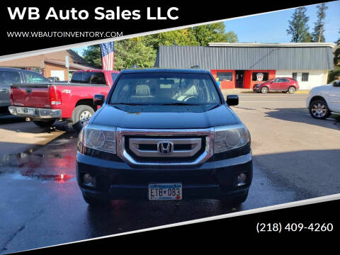 2010 Honda Pilot for sale at WB Auto Sales LLC in Barnum MN
