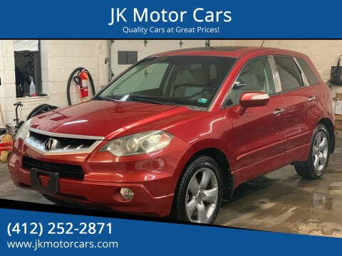 2008 Acura RDX for sale at JK Motor Cars in Pittsburgh PA