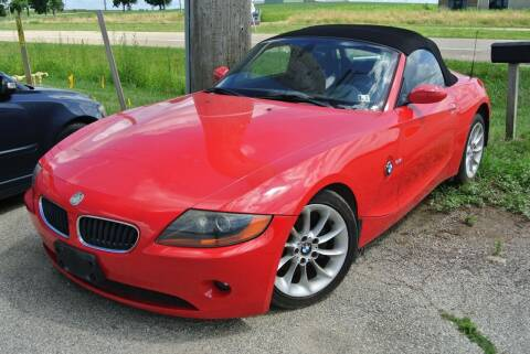 2003 BMW Z4 for sale at CARZ R US 1 in Heyworth IL