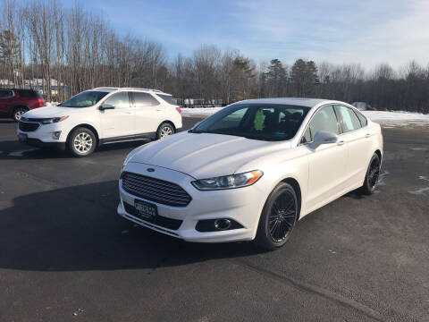 2013 Ford Fusion for sale at Greg's Auto Sales in Searsport ME