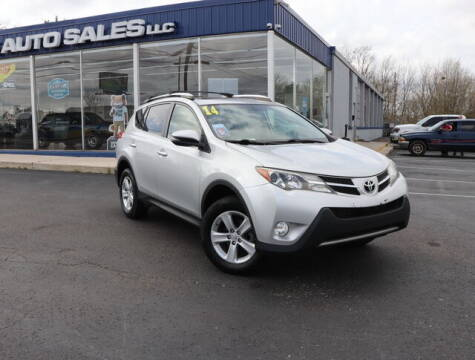 2014 Toyota RAV4 for sale at Williams Auto Sales, LLC in Cookeville TN