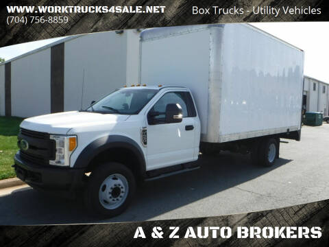 2017 Ford F-450 Super Duty for sale at A & Z AUTO BROKERS in Charlotte NC