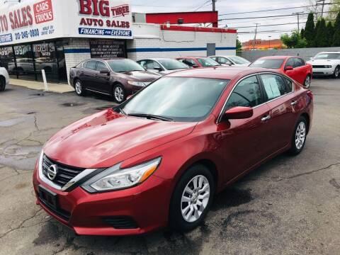2016 Nissan Altima for sale at Big Three Auto Sales Inc. in Detroit MI