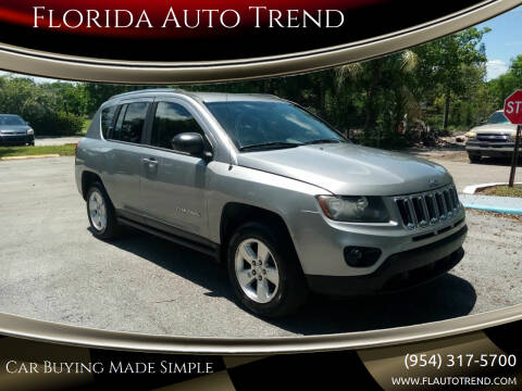 2015 Jeep Compass for sale at Florida Auto Trend in Plantation FL