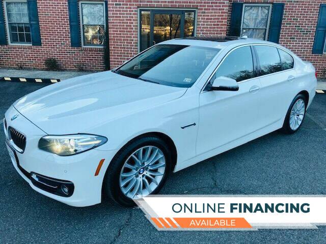 2015 BMW 5 Series for sale at White Top Auto in Warrenton VA