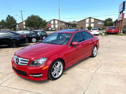 2013 Mercedes-Benz C-Class for sale at Car Gallery in Oklahoma City OK