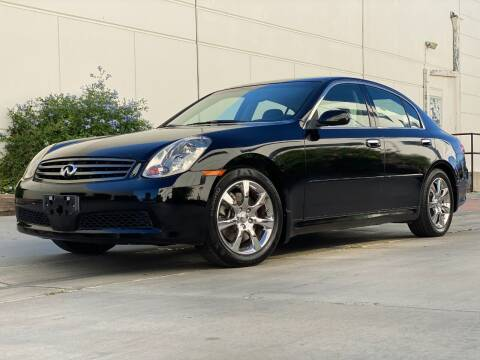 2005 Infiniti G35 for sale at New City Auto - Retail Inventory in South El Monte CA