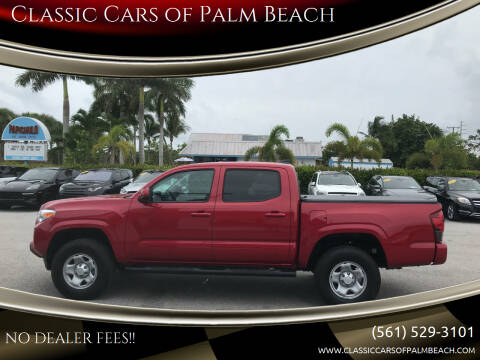 2020 Toyota Tacoma for sale at Classic Cars of Palm Beach in Jupiter FL