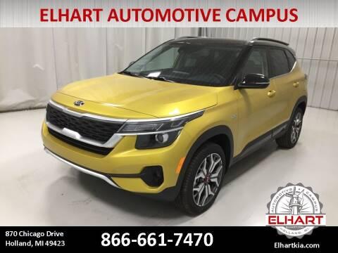 2021 Kia Seltos for sale at Elhart Automotive Campus in Holland MI