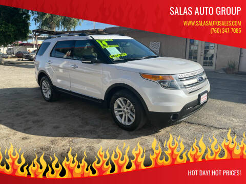 2014 Ford Explorer for sale at Salas Auto Group in Indio CA